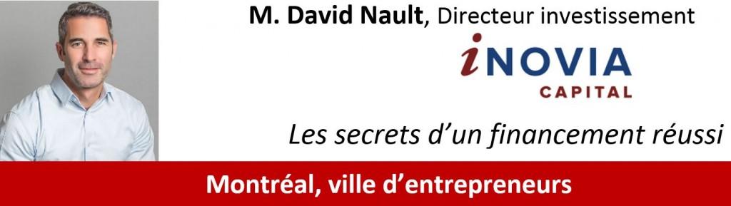 Conférence David Nault, iNovia Capital