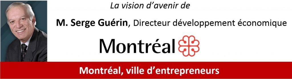 Conférence Serge Guérin, Ville de Montréal